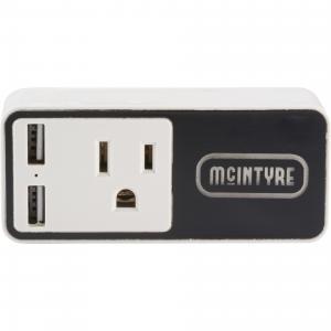 Light-Up Logo Wifi Smart Wall Plug w/ USB Output