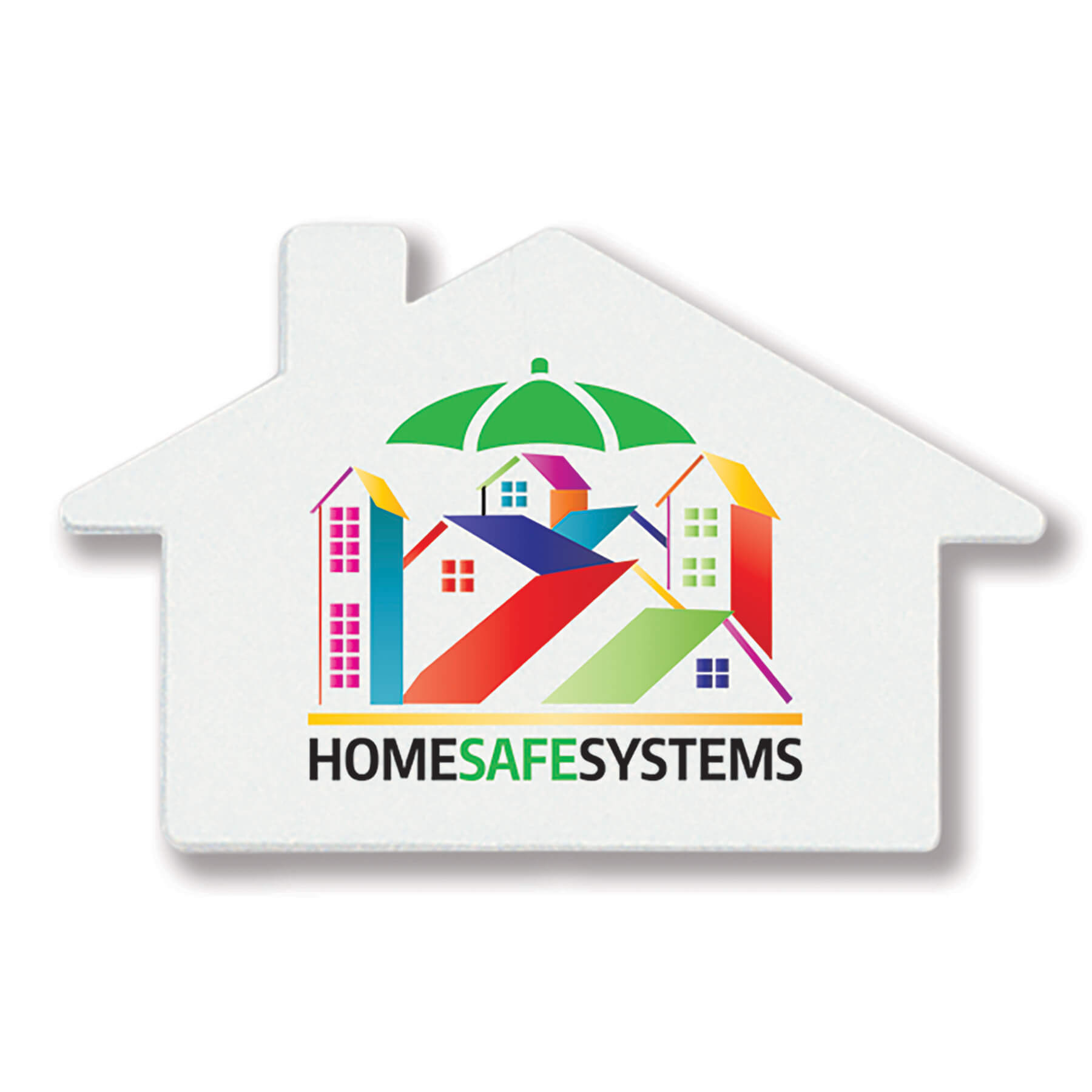 House Shaped Outlet Safety Plug