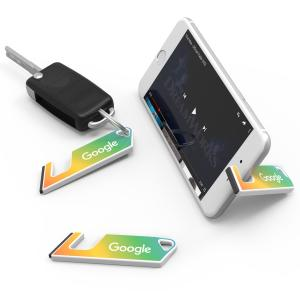 Full Color Hands-Free Phone Stand Keychain