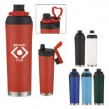 22 oz. Powder Coated Stainless Steel Bottle
