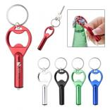 LED Aluminum Bottle Opener Keytag