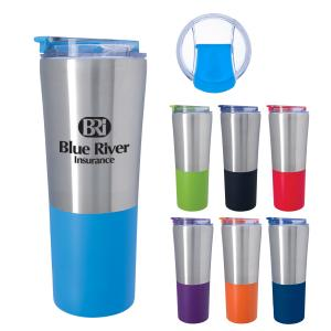 21 oz. Powder Coated Stainless Steel Tumbler