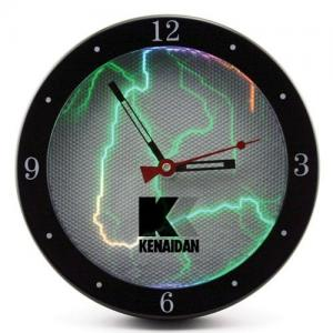 """9"""" Sound-Activated Plasma Wall Clock"""