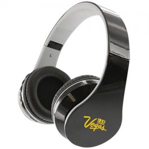 Music Stereo Bluetooth Headphones with FM Radio