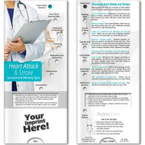 Heart Attack & Stroke: Symptoms and Warning Signs Pocket Slider