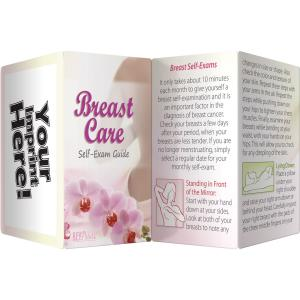 Breast Care: Breast Self Exam Guide Key Points Pamphlet
