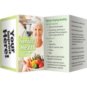Senior's Health Organizer Key Points Pamphlet