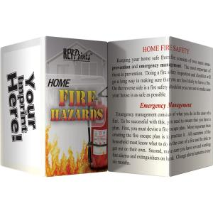 Home Fire Hazards Key Points Pamphlet