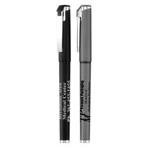 Sleek Metallic Cap-Off Gel Pen