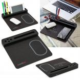 Wireless Desk Charging Mouse Pad