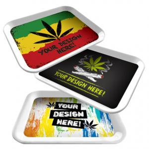 Full Color Rolling Tray