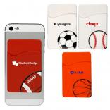 Sports-Themed Silicone Phone Wallet