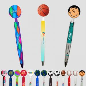 Full Color Round Flat Top Pen