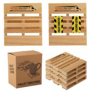 Pallet Coaster 4 Pack Set