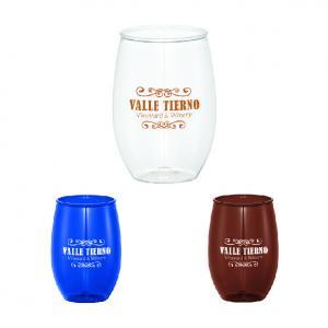 Wynwood 16 oz. Plastic Stemless Wine Cup