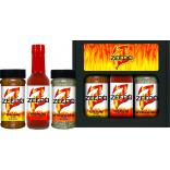 Hot Sauce & Dry Rub Three Pack Combo
