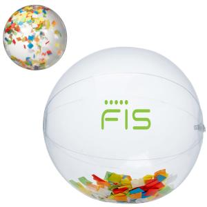 "16"" Confetti Beach Ball"