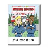 """EMTs Help Save Lives"" Coloring Book"