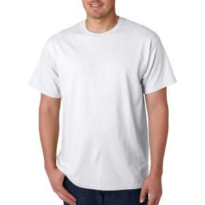 White Gildan Adult Heavy Cotton T-Shirt