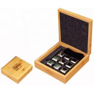 Bamboo Whiskey Stone Set