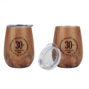 10 oz. Vacuum-Insulated Wood Tumbler