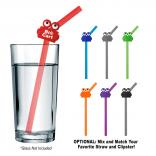 Silicone Straw with Clipster