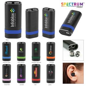 TWS Earbuds with Powerbank Charging Case