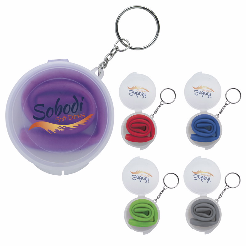Delight Silicon Straw in Box with Keychain