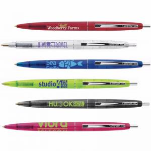 Bic Clear Clics Pen