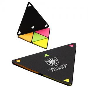 Triangular Shaped Sticky Note Holder