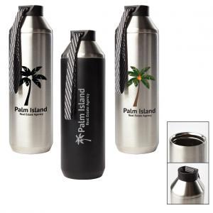 Hydrogen 20 - 20 Oz. Stainless Steel Water Bottle