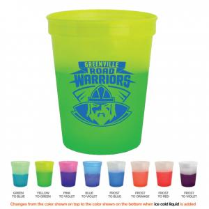 16 oz Color Changing Stadium Cup