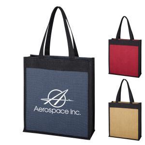 Natural Laminated Jute Tote Bag