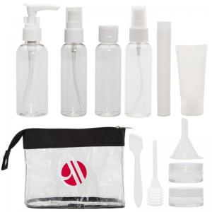 12 Piece Travel Kit with Labels