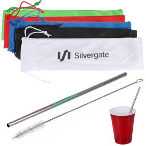 Stainless Steel Metal Straw Kit