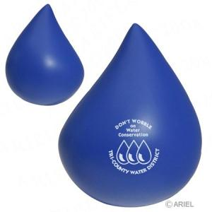 Weighted Base Water Droplet Stress Reliever