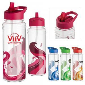 25 oz. Wave Design Water Bottle