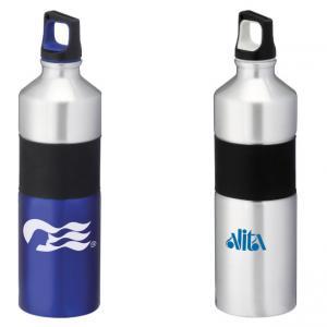 25 oz. Azure Aluminum Two-Tone Water Bottle