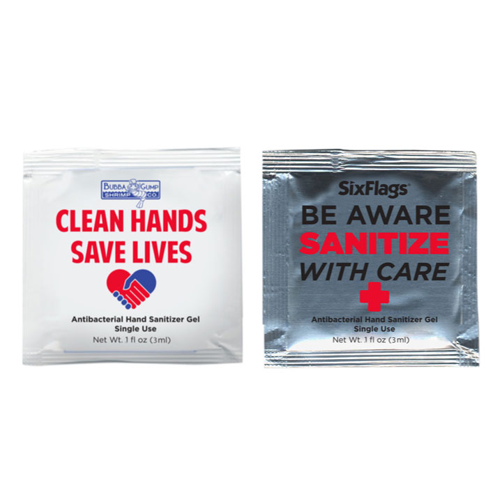 Sanitizer Gel Packet