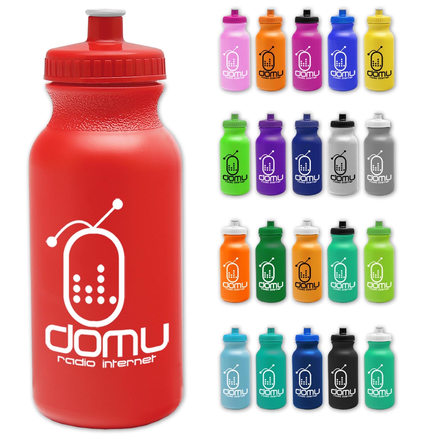 Eco-Friendly 20 oz. Bike Push-Pull Cap Water Bottle