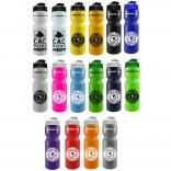 28 Oz. Flip-Top Lid Bike Bottle