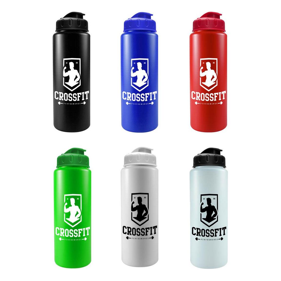 32 oz Quart Sports Bottle Flip Top Lid