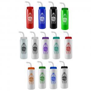 32 oz. Quart Sports Bottle Straw Lid