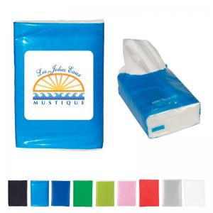 Re-Sealable Mini Tissue Pack