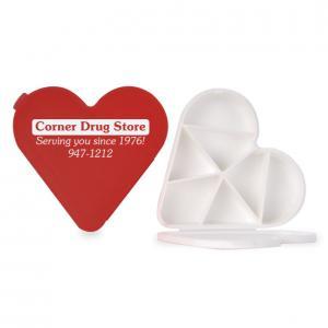 Heart Shaped Pill Holder