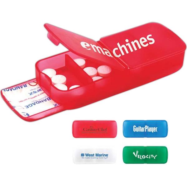 Translucent Bandage and Pill Case