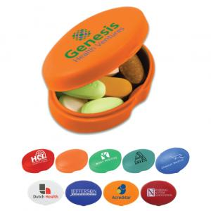 Oval Pill Box