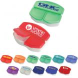Three Compartment Pill Box