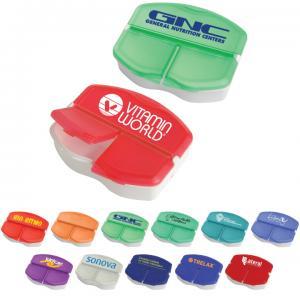 Three Compartment Pill Box