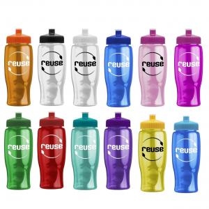 27 oz. Transparent Water Bottle
